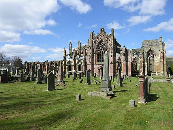 Melrose Abbey Cemetery